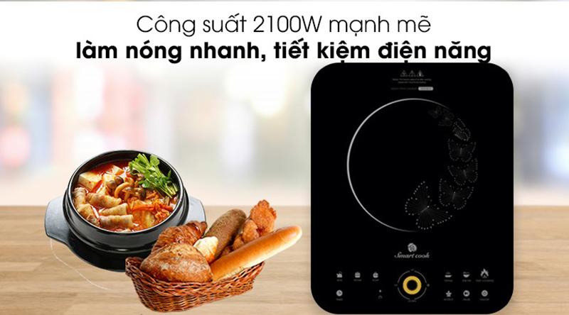 Bếp từ Elmich Smartcook ICS-3873 Mâm từ cao cấp gia nhiệt nhanh