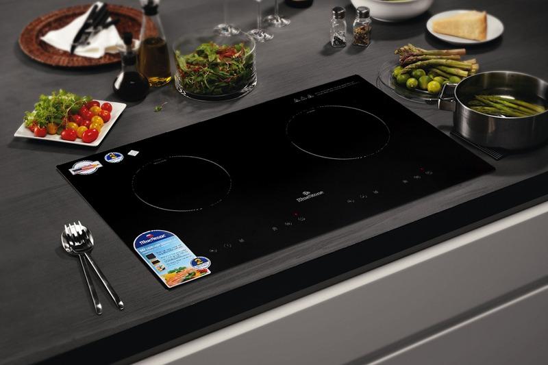 Bếp từ hồng ngoại đôi lắp âm Bluestone ICB-6811 mặt bếp