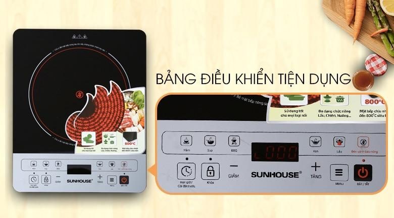 Bếp hồng ngoại Sunhouse SHD6005 cảm ứng hiện đại