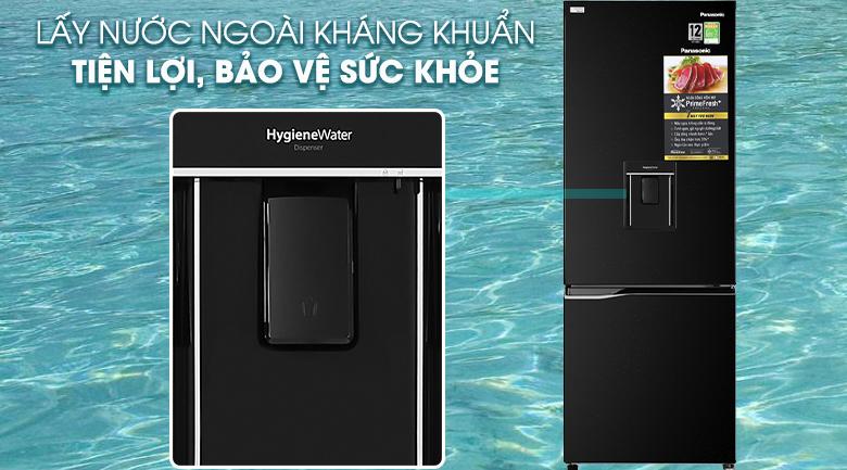 Tủ lạnh Panasonic Inverter 290 lít NR-BV320WKVN công nghệ kháng khuẩn