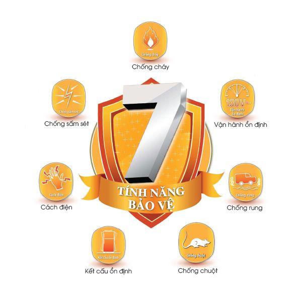 Tủ lạnh Sharp Inverter 224 Lít SJ-X251E-DS 7 tính năng ưu việt