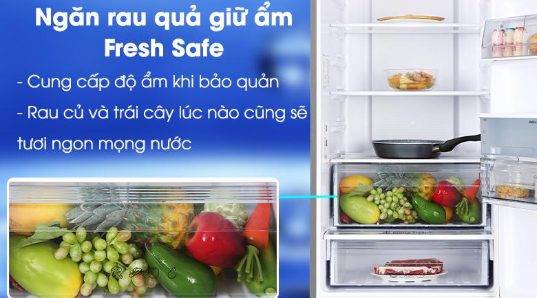Tủ lạnh Panasonic Inverter 322 lít NR-BV360WSVN ngăn giữ ẩm