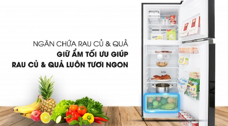 Tủ lạnh Toshiba Inverter 180 Lít GR-B22VU UKG ngăn chứa lớn