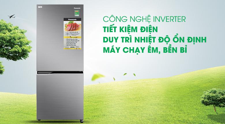 Tủ lạnh Panasonic Inverter 255 lít NR-BV280QSVN công nghệ inverter