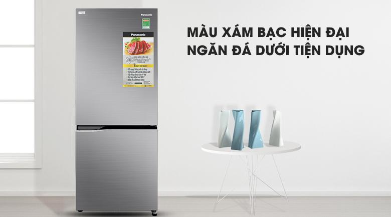 Tủ lạnh Panasonic Inverter 255 lít NR-BV280QSVN kiểu dáng sang trọng