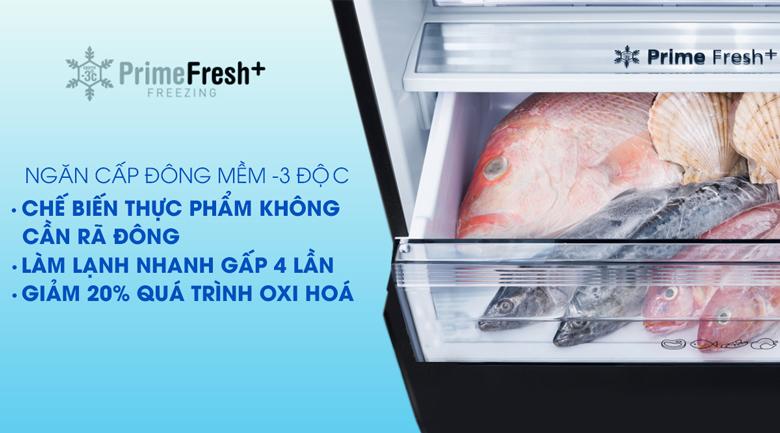 Tủ lạnh Panasonic Inverter 255 lít NR-BV280QSVN ngăn cấp đông mềm