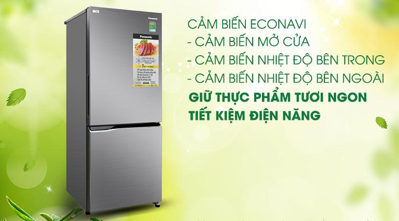 Tủ lạnh Panasonic Inverter 255 lít NR-BV280QSVN tiết kiệm năng lượng