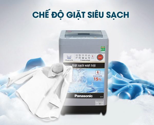 Máy giặt Panasonic NA-F80VS9GRV 8 kg 7