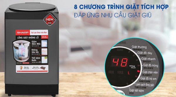 Máy giặt Sharp ES-W100PV-H 10 kg 11