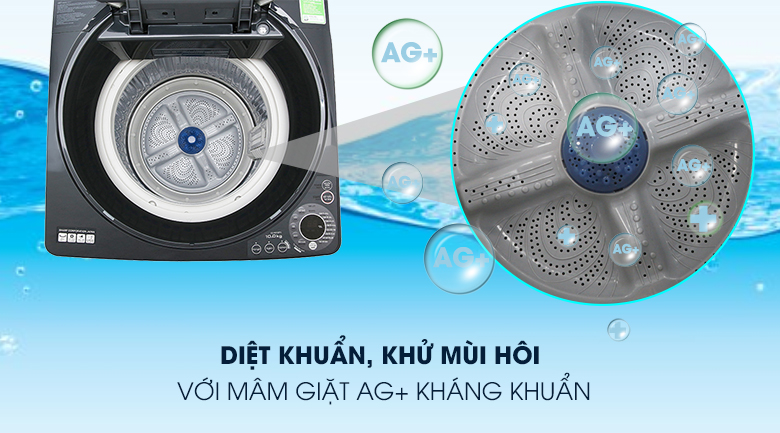 Máy giặt Sharp ES-W100PV-H 10 kg 12