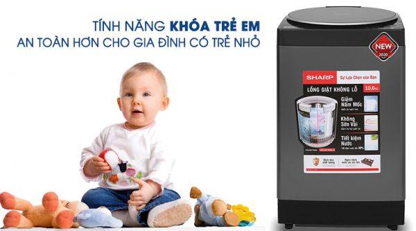 Máy giặt Sharp ES-W100PV-H 10 kg 13