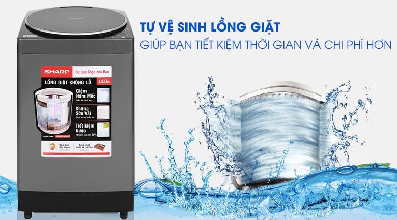 Máy giặt Sharp ES-W110HV-S 11 kg 13