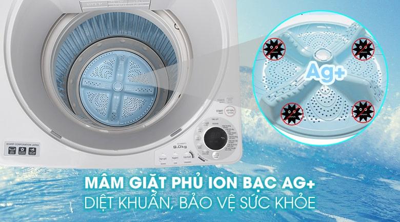 Máy giặt Sharp ES-W90PV-H 9 kg 12