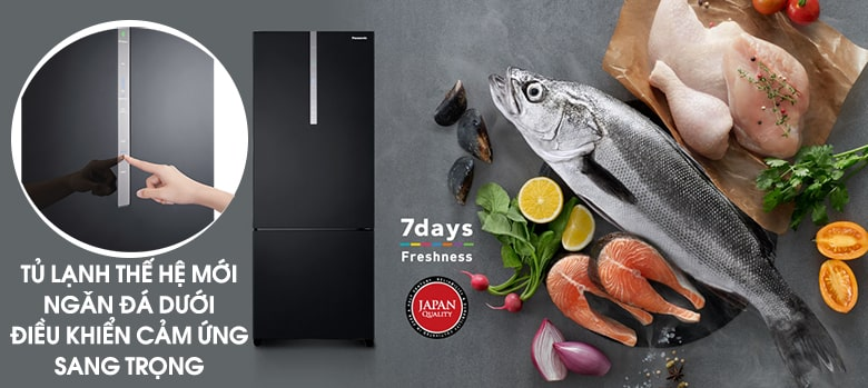 Tủ lạnh Panasonic NR-BX460XKVN Inverter 410 Lít 5