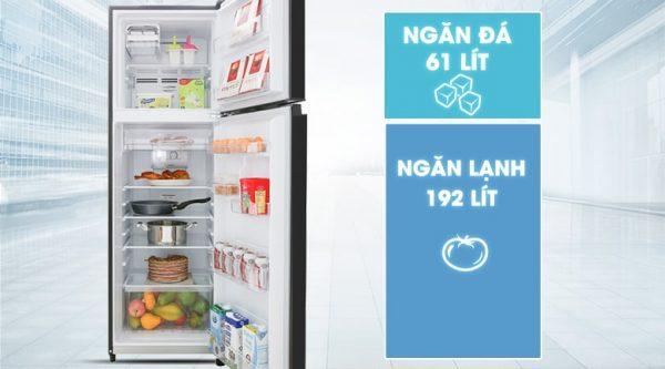 Tủ lạnh Toshiba GR-B31VU UKG Inverter 253 lít 9