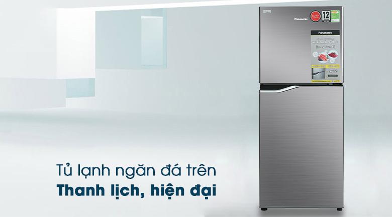 Tủ lạnh Panasonic Inverter 167 lít NR-BA189PPVN thiết kế thanh lịch