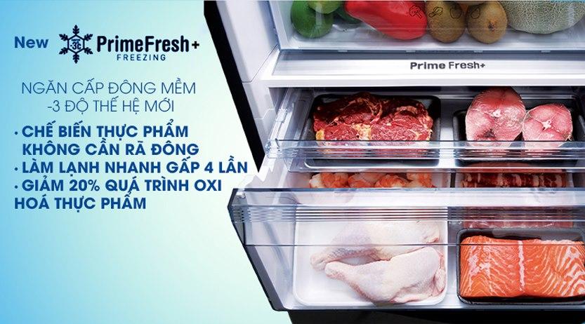 Tủ lạnh Panasonic Inverter 410 Lít NR-BX460XKVN cấp đông mềm