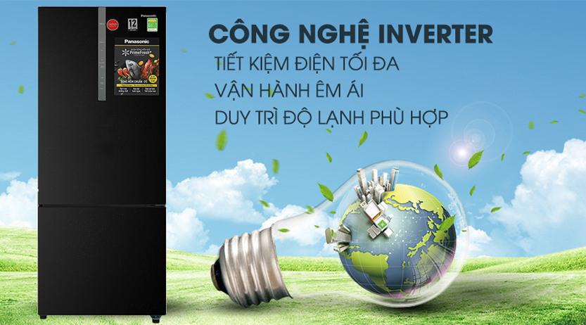 Tủ lạnh Panasonic Inverter 410 Lít NR-BX460XKVN công nghệ inverter