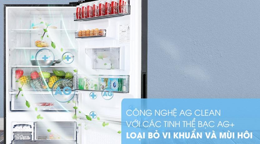 Tủ lạnh Panasonic Inverter 410 Lít NR-BX460XKVN kháng khuẩn khử mùi