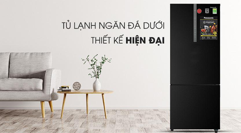 Tủ lạnh Panasonic Inverter 410 Lít NR-BX460XKVN thiết kế hiện đại