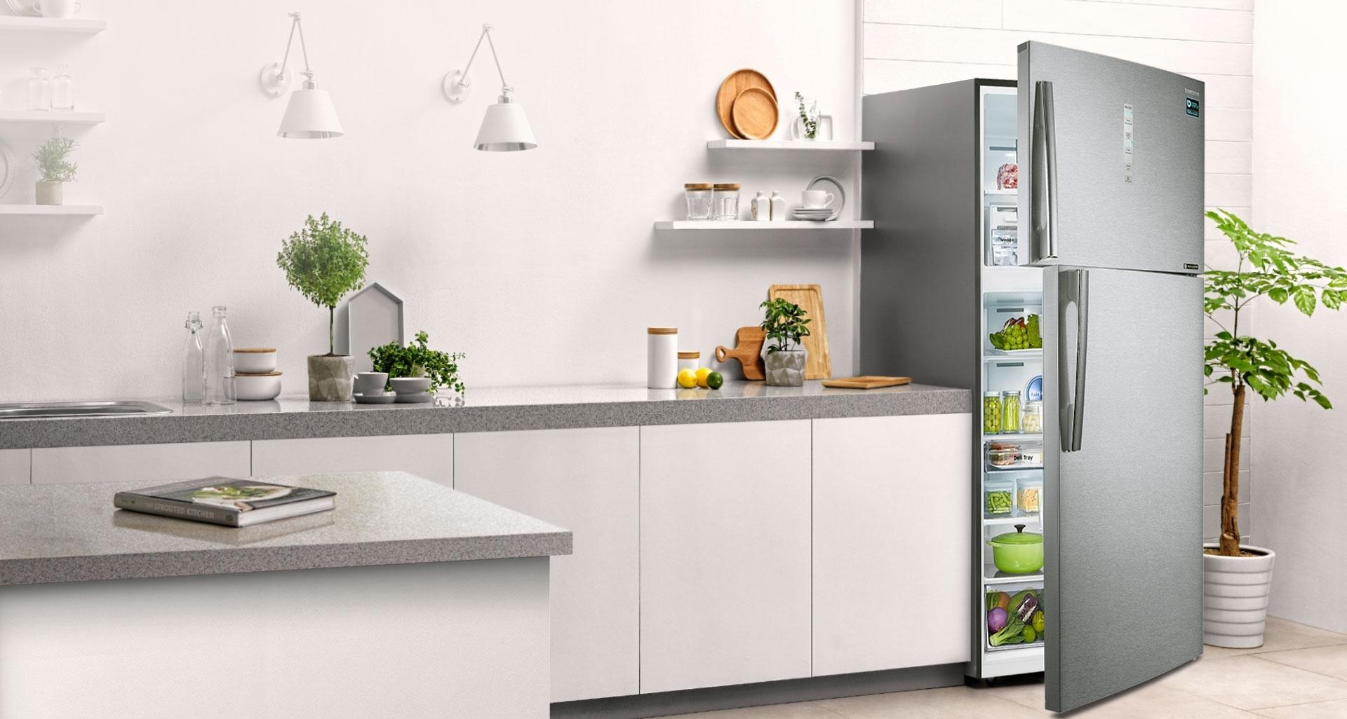 Tủ lạnh Samsung 586 lít RT58K7100BS/SV công nghệ space max