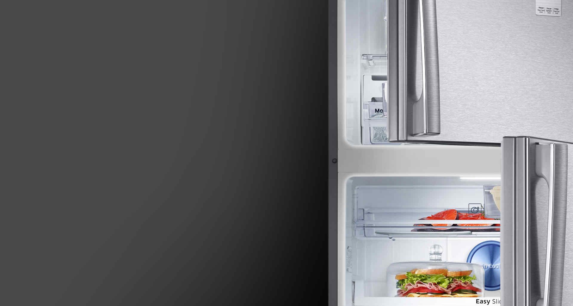 Tủ lạnh Samsung 586 lít RT58K7100BS/SV hệ thống đèn Led