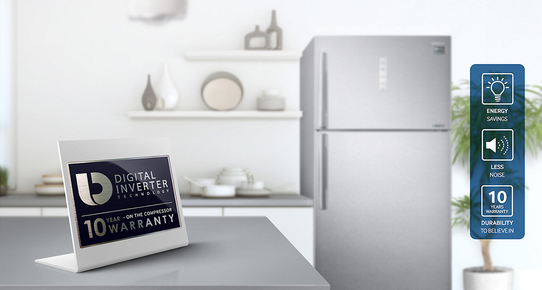 Tủ lạnh Samsung 586 lít RT58K7100BS/SV vận hành bền bỉ