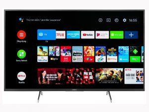 Android Tivi Sony KD-49X7500H 4K 49 inch
