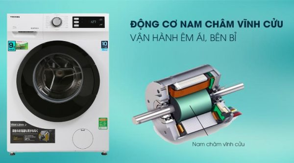 Máy giặt Toshiba TW-BK105S2V(WS) Inverter 9.5 Kg 8