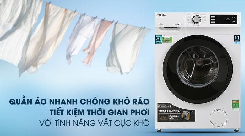 Máy giặt Toshiba TW-BK105S2V(WS) Inverter 9.5 Kg 9