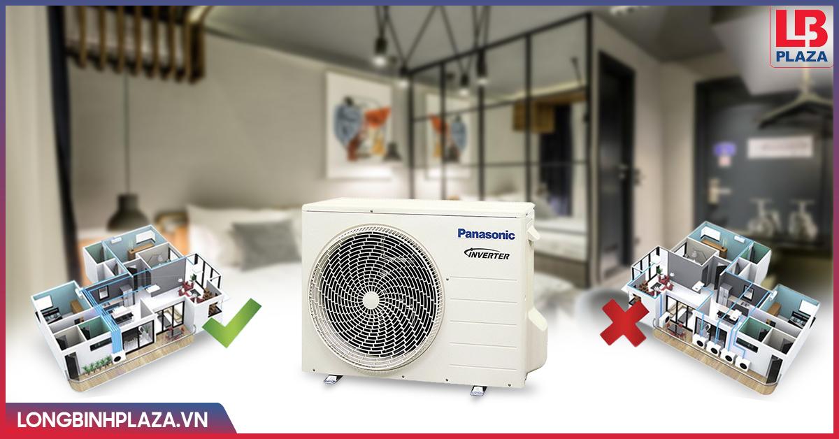 Lắp đặt điều hoà multi Panasonic cho Chung cư