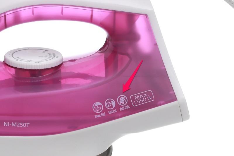 Bàn ủi hơi nước Panasonic NI-M250TPRA bàn ủi chống cặn