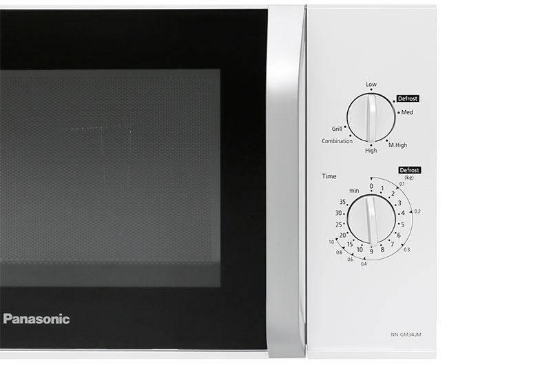 Đa dạng chức năng: Lò có thể hâm nóng, rã đông, nướng, nướng kết hợp vi sóng... đáp ứng mọi nhu cầu làm bếp của gia đình bạn