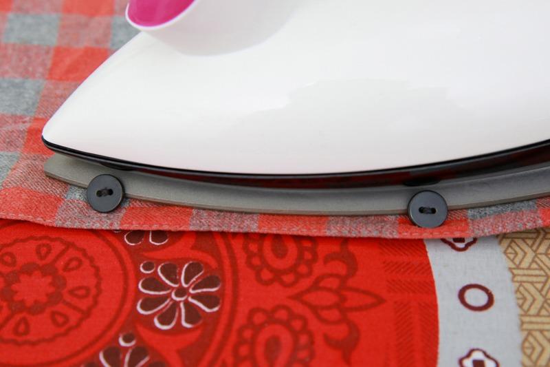 Bàn ủi khô Panasonic NI-317TVRA thiết kế mũi nhọn