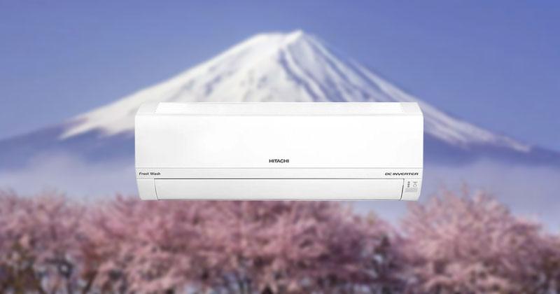 Điều hòa Hitachi Inverter đến từ Nhật Bản