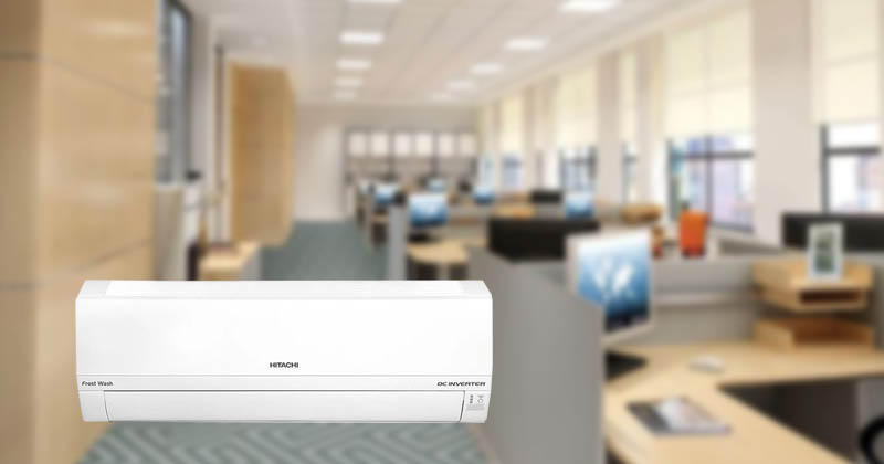 Điều hòa Hitachi Inverter thích hợp với nhiều kiểu văn phòng