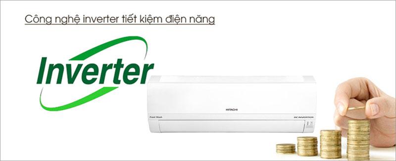 Điều hòa Hitachi Inverter tiết kiệm điện năng cho văn phòng công ty