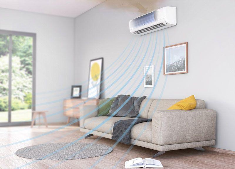 Điều hòa Hitachi lọc không khí sạch đến 99%