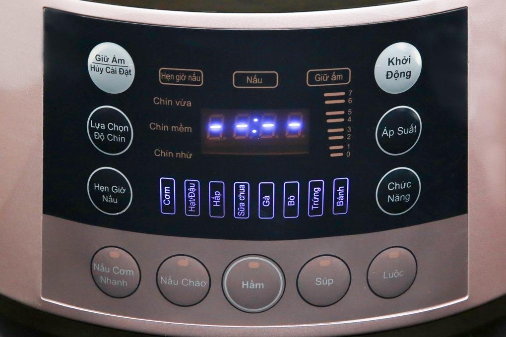 Nồi áp suất điện Bluestone PCB-5763 (5 lít) tiện lợi hơn