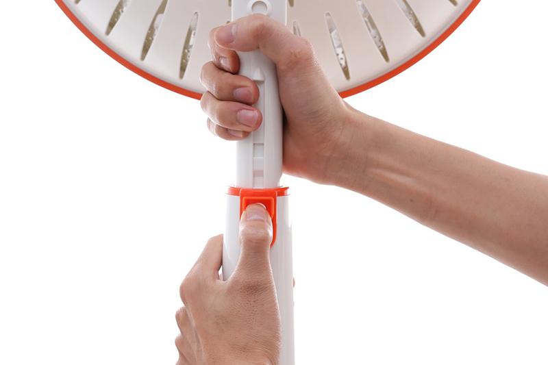 Có thể điều chỉnh chiều cao quạt dễ dàng, đáp ứng nhu cầu sử dụng đa dạng trong nhiều hoàn cảnh khác nhau.