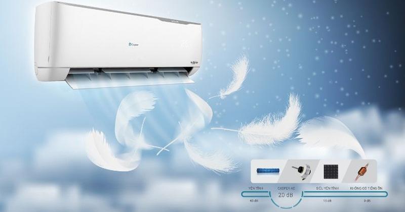 Điều hòa Casper có khả năng làm lạnh cao