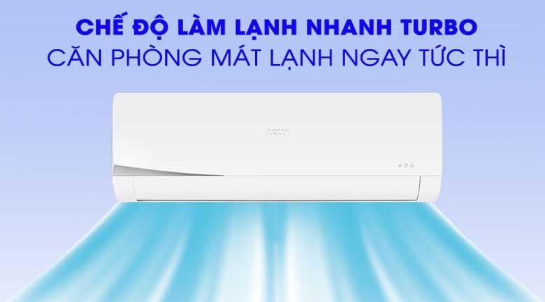 Điều hòa AQUA 2 HP AQA-KCR18NQ-S chế độ turbo