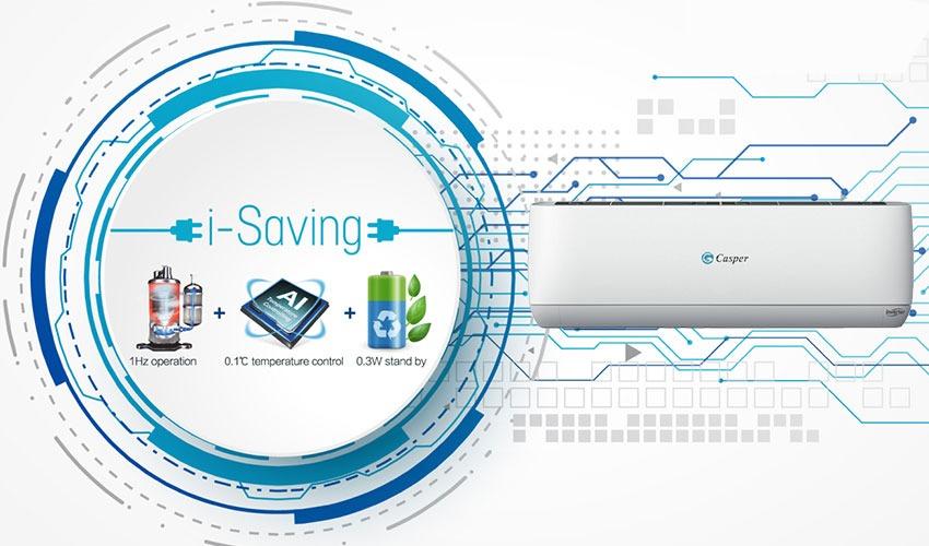 Điều hòa Casper 1 chiều Inverter 24000BTU GC-24TL32 công nghệ tiên tiến