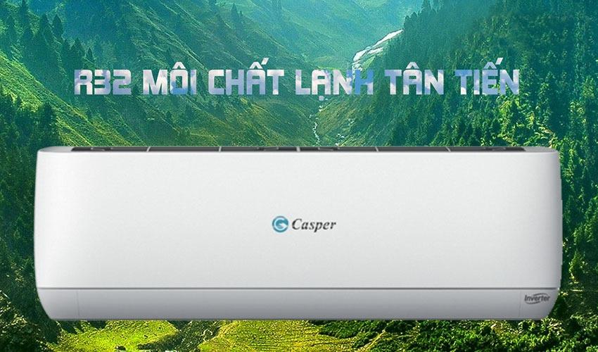Điều hòa Casper 1 chiều Inverter 24000BTU GC-24TL32 chất lạnh r32