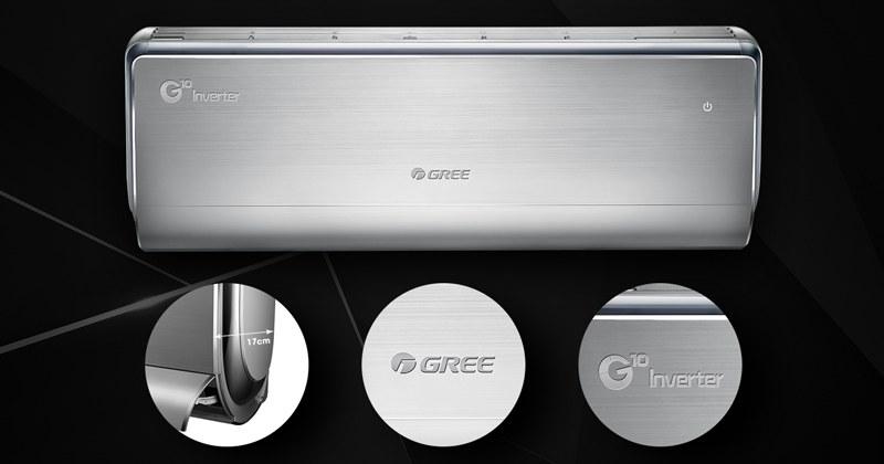 Điều hòa Gree có thiết kế bắt mắt