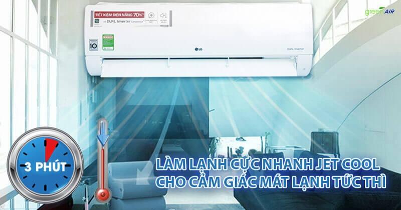 Điều hòa LG có thực sự chất lượng và nên mua trên thị trường điều hòa hiện nay? chế độ jet cool