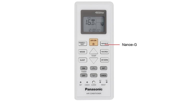 Hướng dẫn sử dụng điều hoà Panasonic an toàn hạn chế được Virus nguy hiểm công nghệ nanoe-g