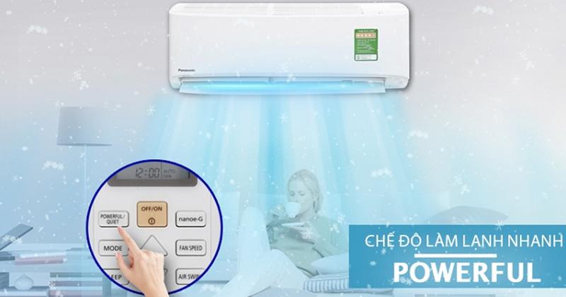 So sánh khả năng làm lạnh nhanh của điều hòa Panasonic và Daikin powerful