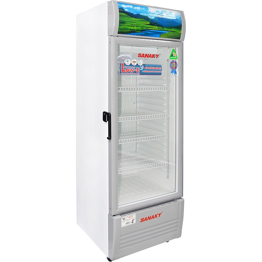 Tủ mát Sanaky Inverter 200 Lít VH-258KL đèn led