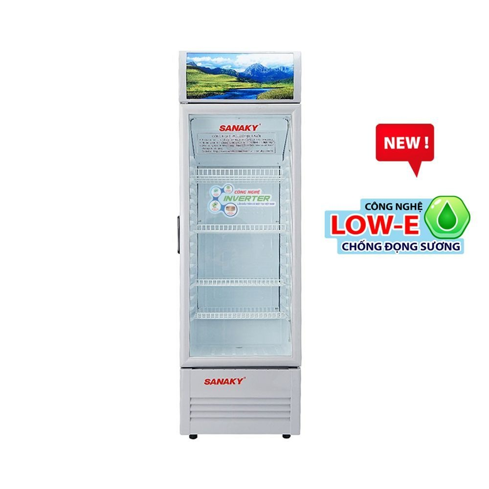 Tủ mát Sanaky Inverter 200 Lít VH-258KL giữ nhiệt